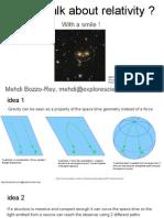 HST, General Relativity and Einstein Ring