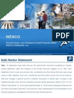 WESCO+-+Oppenheimer+Nov.+2009