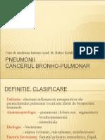 Curs 2.PNEUMONII.cc.Bronho Pulmonar