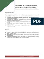 2. Materi Manajemen Stratejik Dan Kepemimpinan