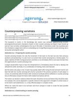 Counterpressing Variations _ Spielverlagerung