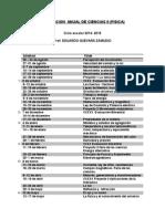 Planeacion Anual de Ciencias II