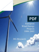 EU Wind Energy Projects 1998-2002