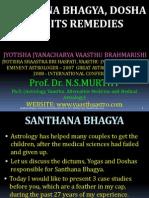 Santhana Bhagya Dosha and Its Remedies