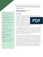 WCP OpenStack Report FINAL 20141114i
