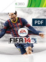 Fifa 14 Manuals Microsoft XBOX360