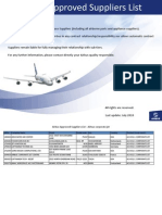 Airbus Approved Suppliers List July2010