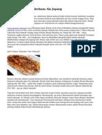 Resep Takoyaki Sederhana Ala Jepang