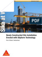 silos with slip form technology