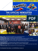 """Issue No. 16 Volume 1 """" OCTOBER—ECONOMIC AND COMMUNITY DEVELOPMENT MONTH""""  October 15, 2015"""