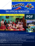 "Issue No. 17 Volume 1 "" OCTOBER—ECONOMIC AND COMMUNITY DEVELOPMENT MONTH""  October 22, 2015"