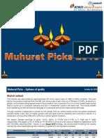 ICICI D Muhurat Picks 2015