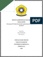 Kewenangan PTUN Dalam Menyelesaikan Sengketa Keputusan Yang Dibuat Oleh KPU dan KPUD.pdf