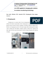 Xiamen Caimore's DTU Applied in Charging Pile Solution Based on Wireless Monitoring Technology
