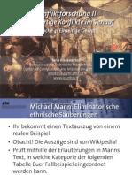 Int. Konfliktforschung II - Woche 04 - Einseitige & Wahllose Gewalt (Übung)