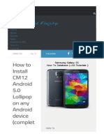 11328 Install Cm12 Android 5 0 Lollipop on Any Android Device
