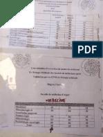 Nombre Et Répartition de Postes de Résidanat Alger 2015