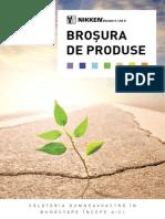 Broşura de Produse Nikken 2012