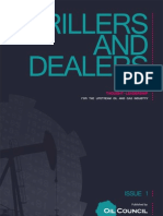 The Oil Council's 'Drillers and Dealers' magazine - January 2010 Issue