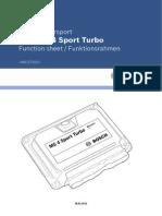 Function Sheet MS4Sport Turbo