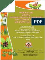 Pharmacovigilance Protocol for Asu Drugs