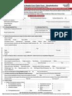Icici Lombard Health Care Insurance Claim Form