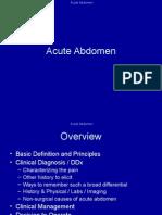 Acute Abdomen(1)
