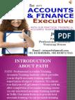 Professional Accounts Training Institute in Delhi