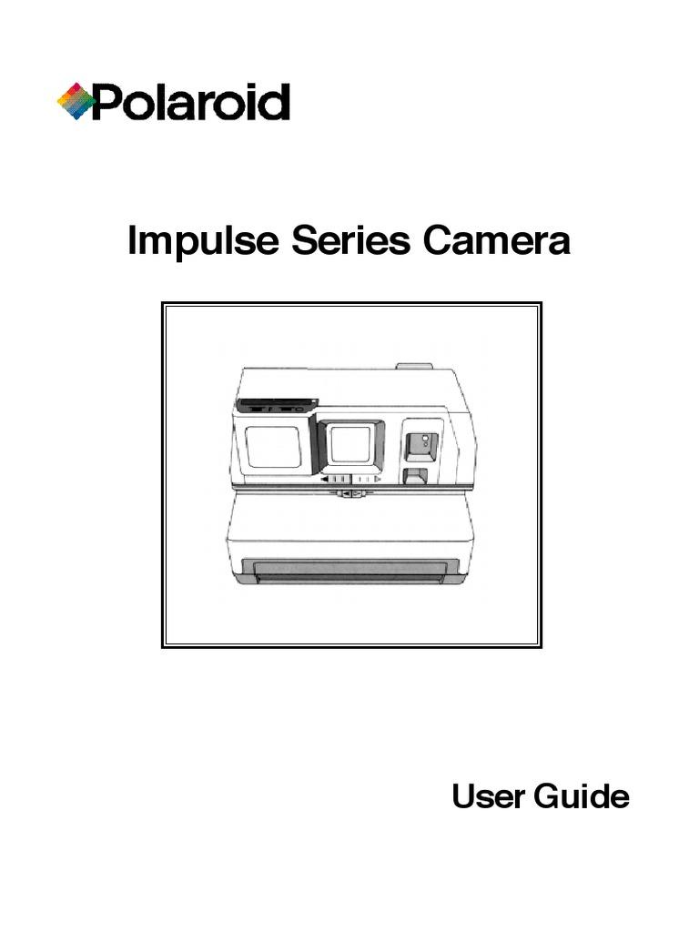 manual polaroid impulse af camera flash photography rh es scribd com polaroid impulse af manual polaroid impulse se manual