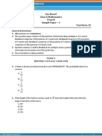 GOA-Mathematics Sample Paper-1-Class 10 Question Paper (SA-II)