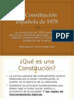 La Constitución Española 1978