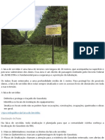 Faixa de Servidão Gasoduto
