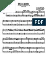 Bach, Johann Sebastian - Badinerie