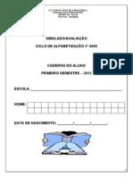 Simulado Provinha Brasil 2015