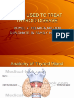 Drug Used to Treat Thyroid Disease