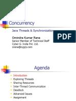 Java Threads & Synchronization