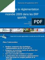 Reglementation Incendie Erp 2009