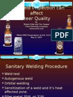 Presentation - Weld Inspection