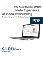Automated Video Interview Process