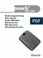 Manual B-Speech GPS20c(Eng) (1)