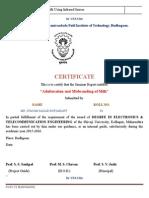 2seminar Certificate