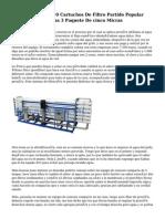 Ósmosis Inversa 10 Cartuchos De Filtro Partido Popular Sedimentos De Agua 3 Paquete De cinco Micras