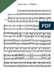 Canon Jazz 4 hands piano sheet music