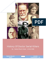 History of Doctor Serial Killers