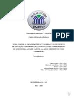 Relatório Final Educação Corporativa