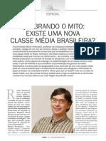 Pochmann - Quebrando o Mito. Existe Uma Nova Classe Média Brasileira