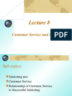 Lecture Eight Customer Service and Marketing3
