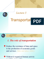 Lecture Five Transportation2