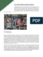 Mujeres en la maquila, sobrevivientes del abuso laboral