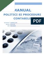 Manual Politici Si Proceduri Contabile